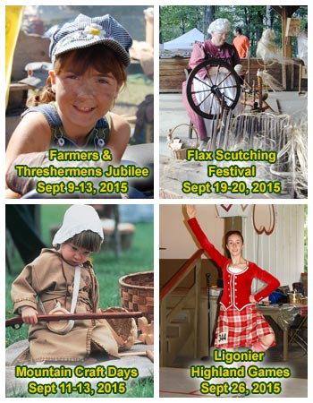 4 Fall Festivals in the Laurel Highlands